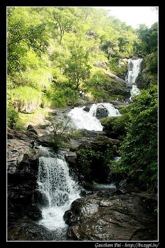 Trip to Chelavara Falls, Igguthappa Temple, Iruppu Falls and