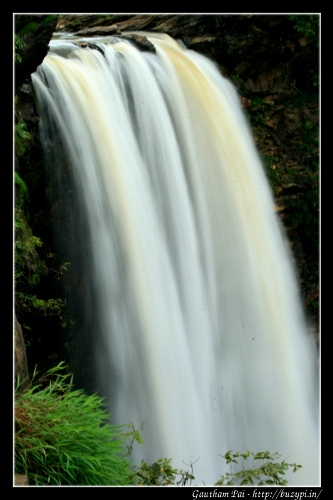 Long exposure shot of Raja Falls, Jog Falls, Shimoga